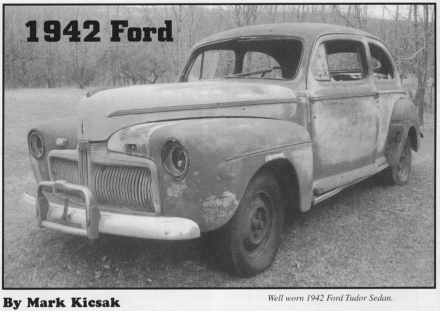 1942 Ford Door Alignment
