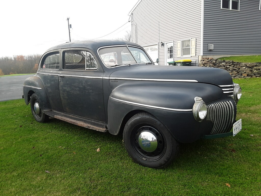 1941 DeSoto with 2009 Crown Victoria Front End Installed